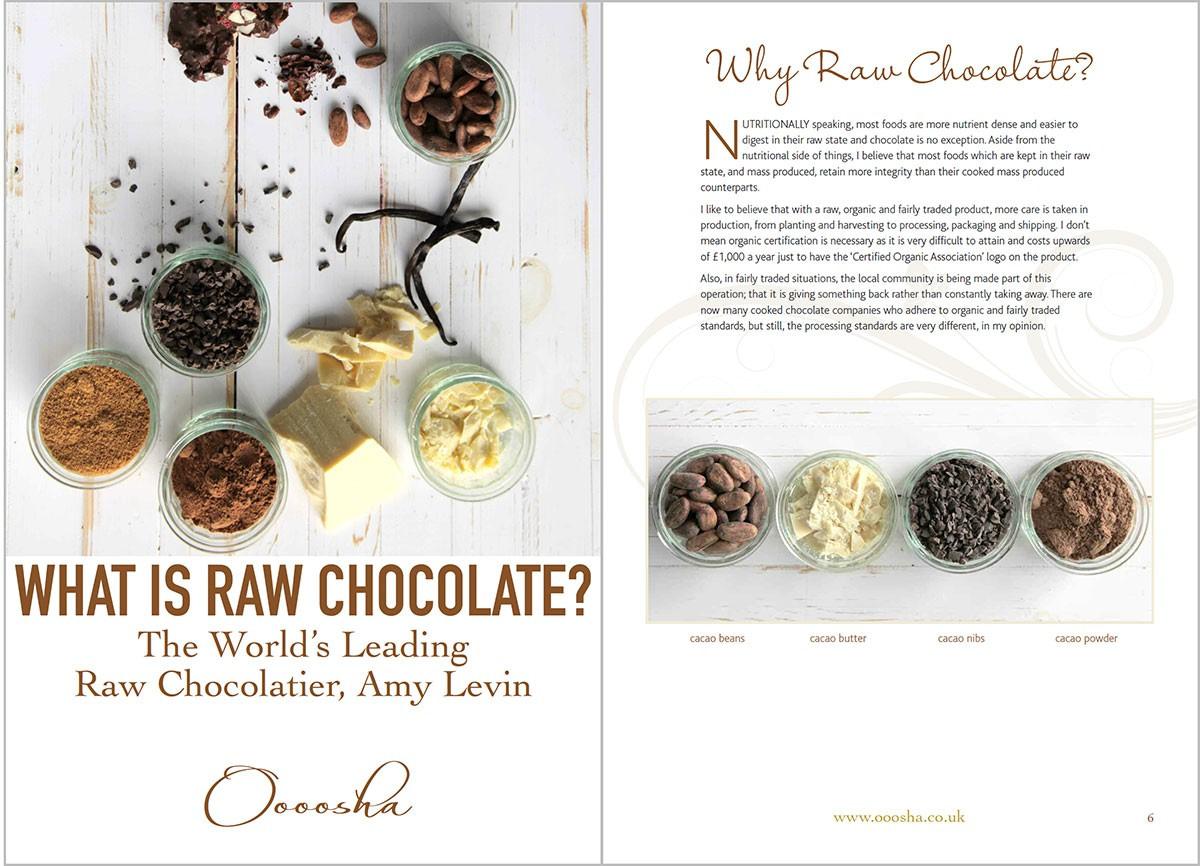 Raw Chocolate PDF ebook design