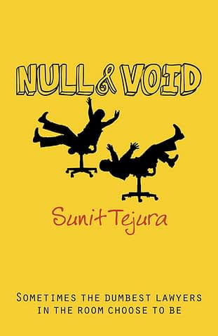 NULL & VOID - EBOOK AND PRINT BOOK COVER ART