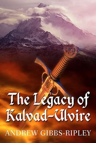 The Legacy of Kalvad-Ulvire - Ebook cover design