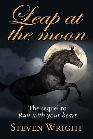 Leap at the moon - Ebook cover artwork