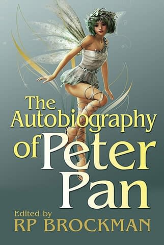 The Autobiography of Peter Pan - Book cover design