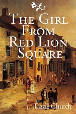 The Girl fromRed Lion Square Book Cover Design