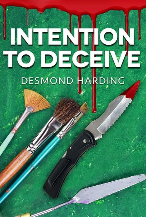 Intention to Deceive - Ebook cover design