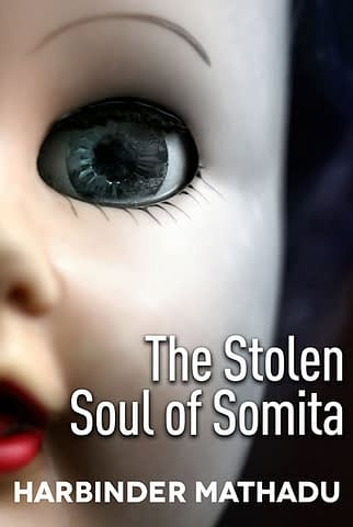 The Stolen Soul of Somita - Ebook Cover design