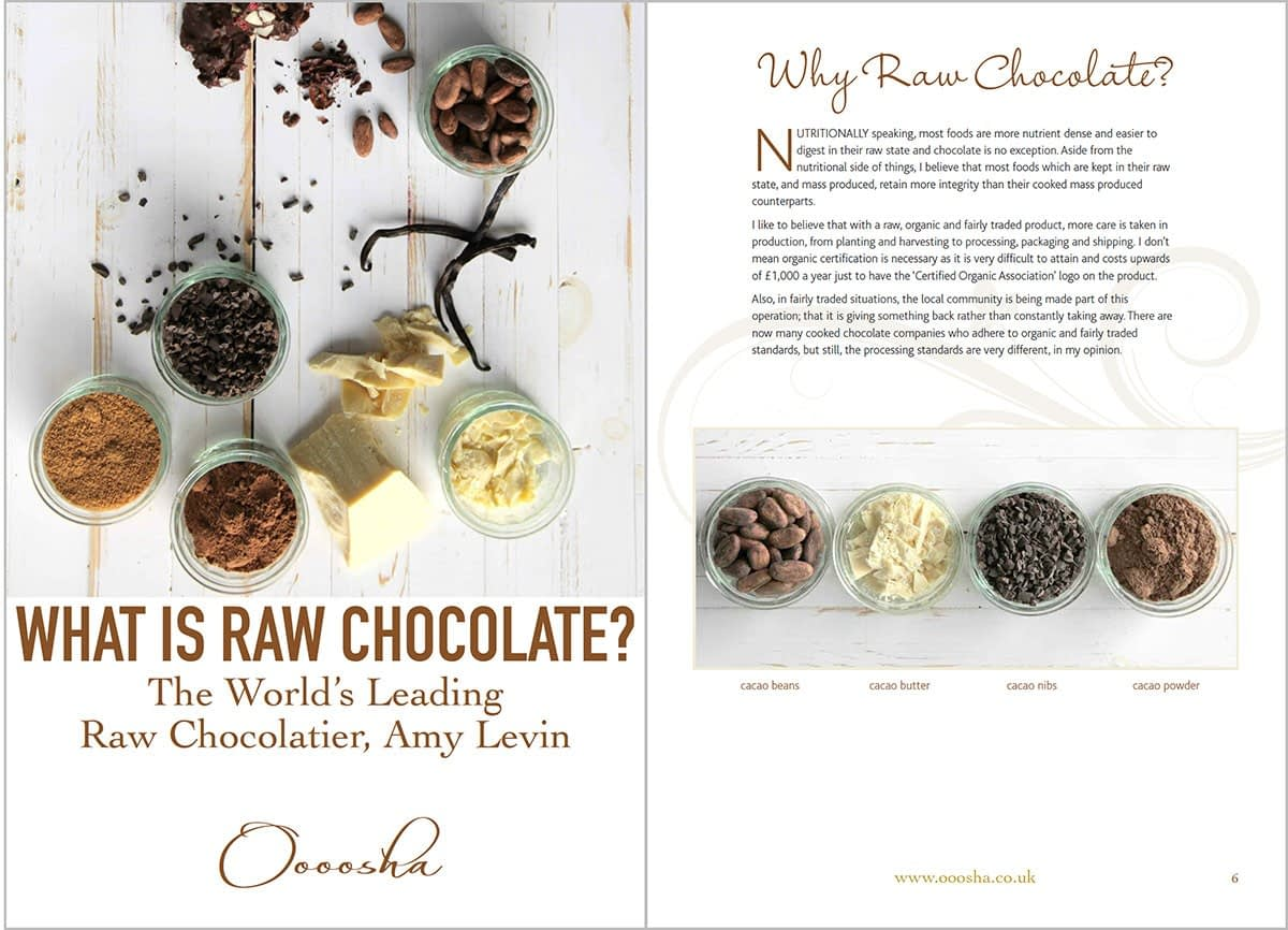 Formatting Ebooks - What is Raw Chocolate