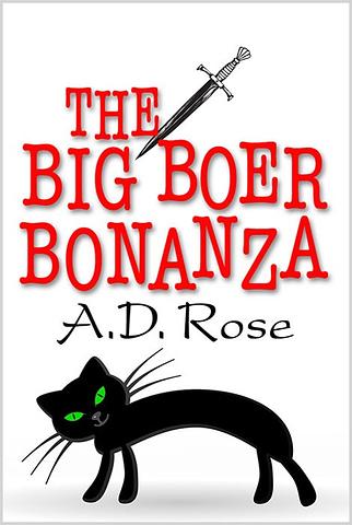 The Big Boer Bananza book cover design