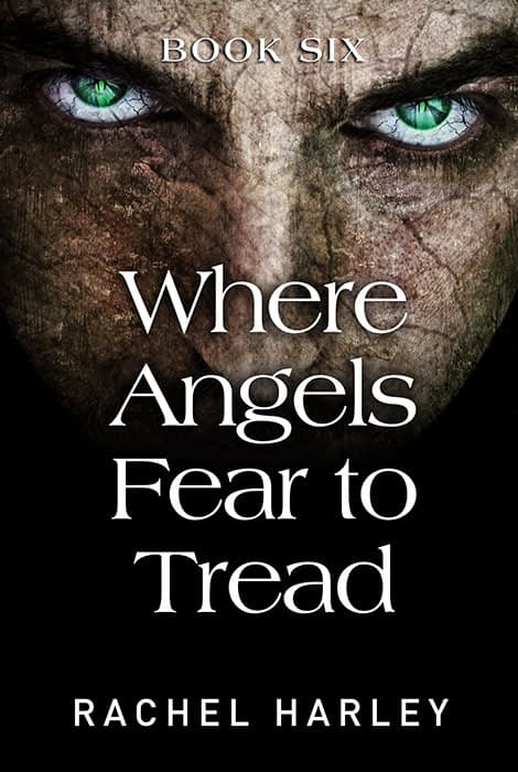 Where Angels Fear to Tread - Book cover design artwork