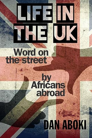 LIFE IN THE UK - Ebook cover design
