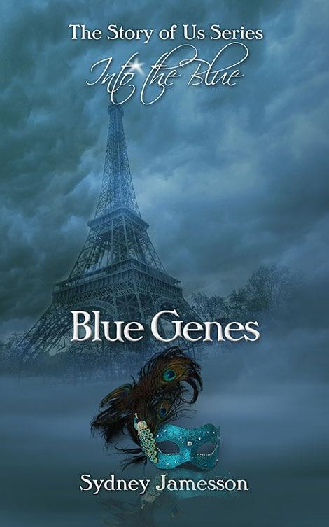 Blue Genes - Book cover design