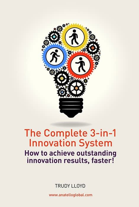The Complete 3-in-1 Innovation System ebook cover design